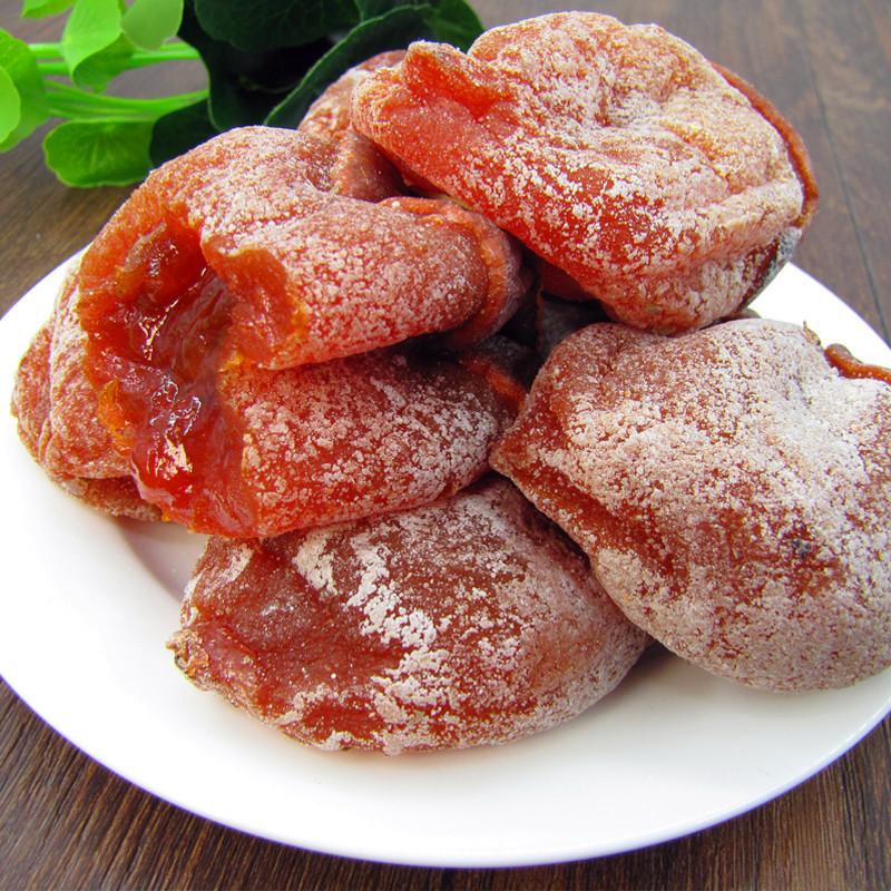 特级 富平柿饼农家自制柿子饼 天然霜降手工柿子饼陕西特产2500克
