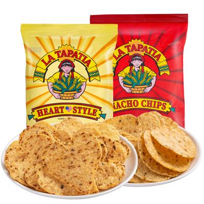 墨西哥少女玉米片283gx3巨型零食美国进口超大抱抱袋网红零食代餐