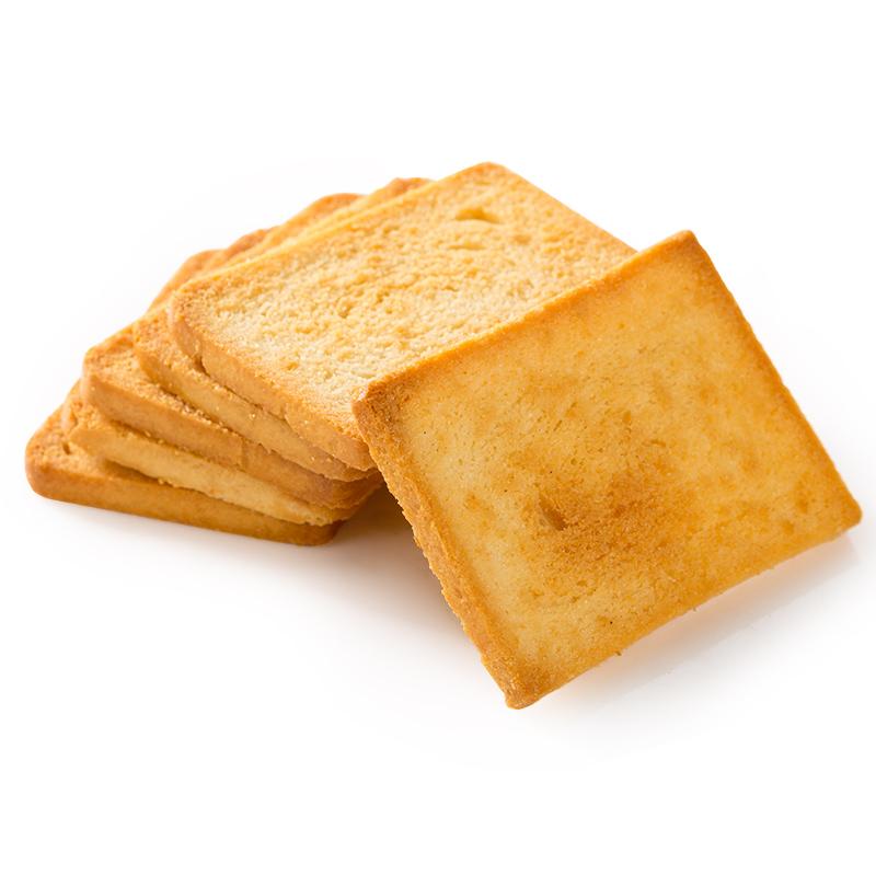 米多奇烤香馍片2kg烤馒头片饼干零食小吃早餐食品混合装整箱包邮