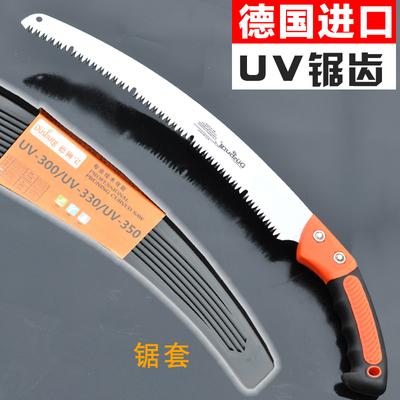 德国进口园林手工锯子木工手锯工具手板锯钢锯不折叠锯果树伐木锯