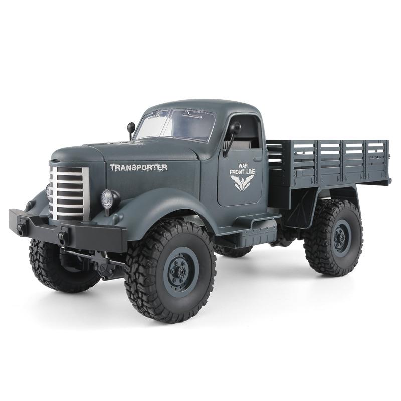 超大遥控越野车高速四驱汽车攀爬车军卡车儿童玩具男孩RC成人模型