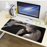 Haiqin smoke ice princess ghost knife animation game mouse pad girls tide super thick padded custom desk pad