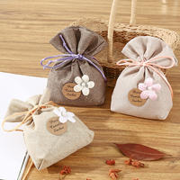 Bedroom closet fragrance deodorant sachet car deodorant sachet indoor home fresh aroma cotton linen bag home