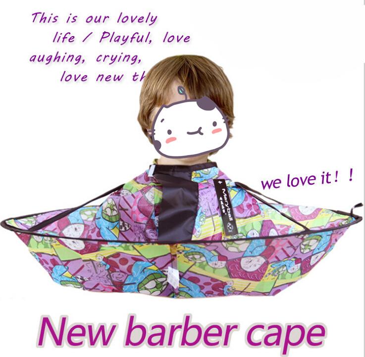 折叠款儿童理发衣 儿童围布理发斗篷 方便清理掉落散发
