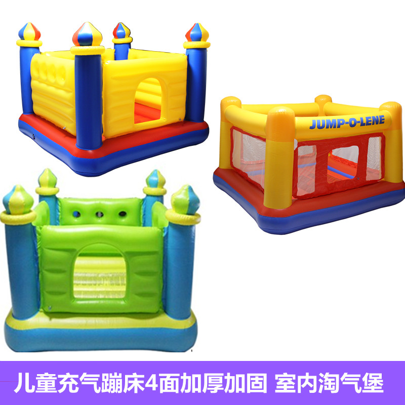 儿童室内淘气堡蹦床