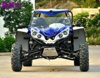 All the people form a double double-seat karting four-wheeled off-road vehicle steel tube ATV mountain motorcycle ATVUTV