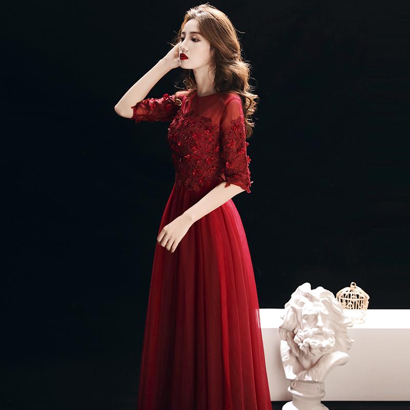 燕芳菲YFF18221新娘礼服
