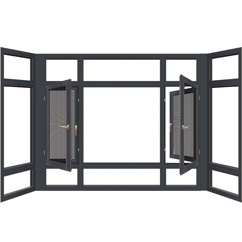 断桥铝门窗封阳台窗户铝合金门窗塑钢窗隔音玻璃阳光房定制北京