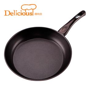 得利仕平底锅不粘锅无油烟锅牛排煎锅单身小炒锅电磁炉用锅具煎蛋