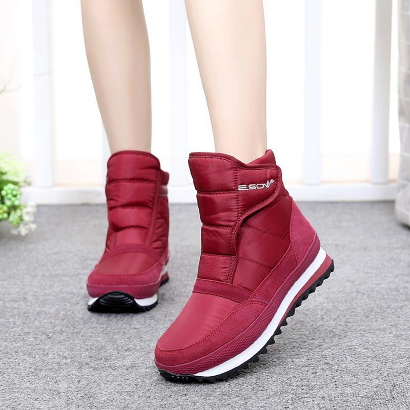 雪地靴低筒靴女