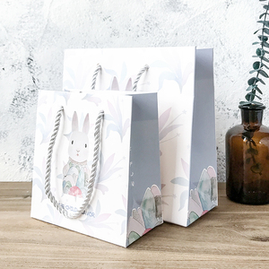 森系简约礼品袋高档礼物盒纸袋子手提袋生日节日情人送礼伴手礼袋