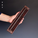 Red rosewood pocket small abacus abacus paperweight play ornaments wenwan small pieces mahogany gift wooden abacus