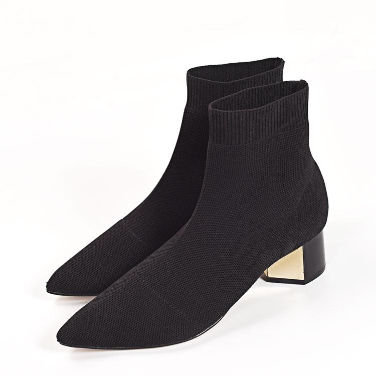 欧美款短靴女