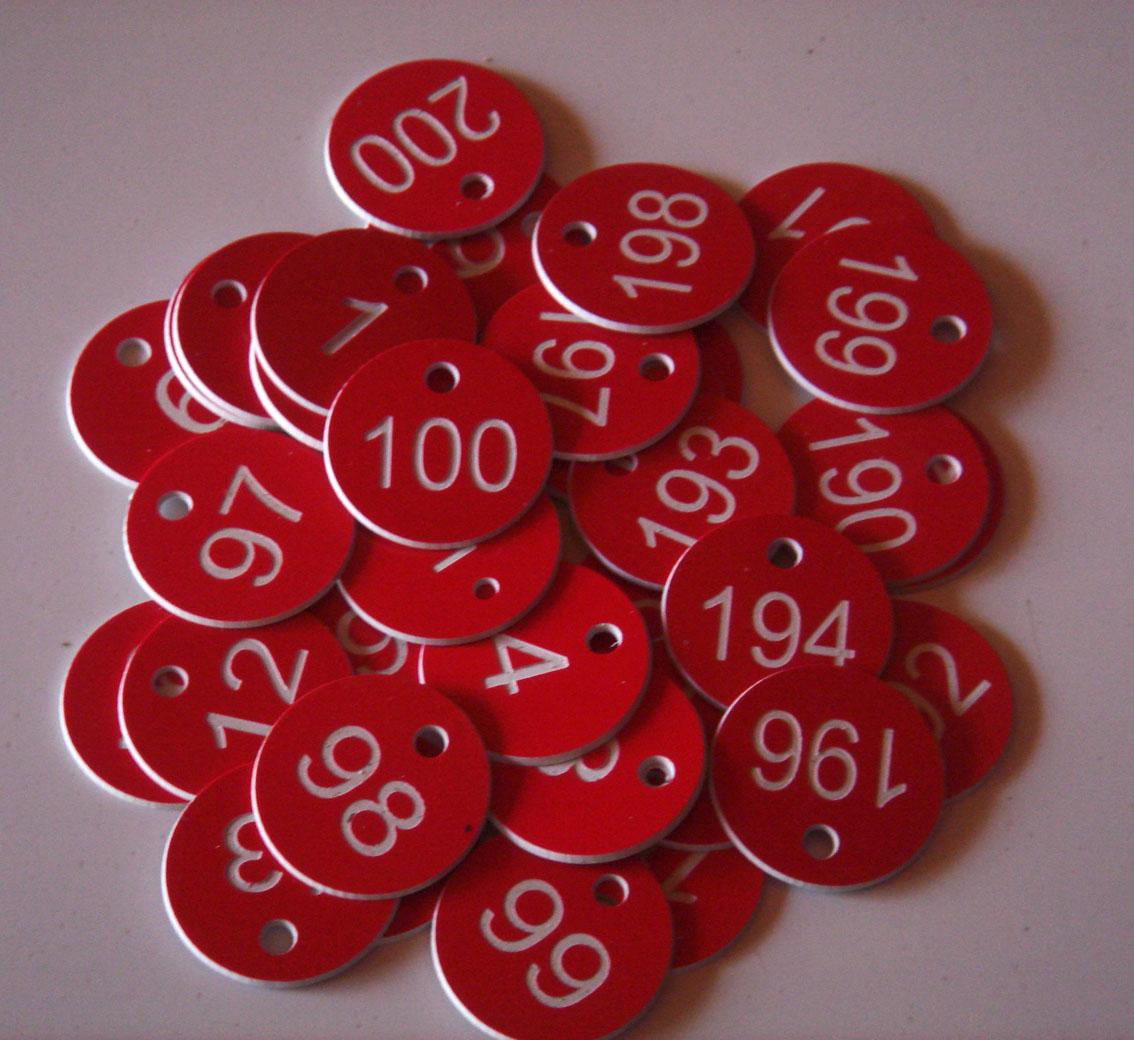 Номерки для гардероба Артикул 520404991383