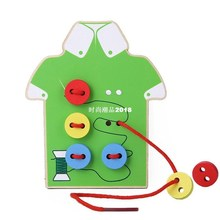 Beads Lacin Educational Children Toys Wooden Kids Baby Early