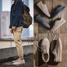马登男鞋冬季休闲鞋加绒保暖男士韩版潮流英伦百搭鞋子男潮鞋板鞋