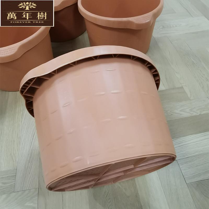 足浴店用手端盆桶亚克力足浴盆沐足城用泡脚足疗浴牛筋塑胶洗脚桶