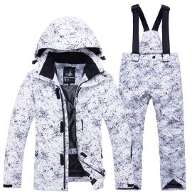 儿童滑雪服男童女童滑雪服套装防风防水保暖加厚单板双板滑雪衣裤图片