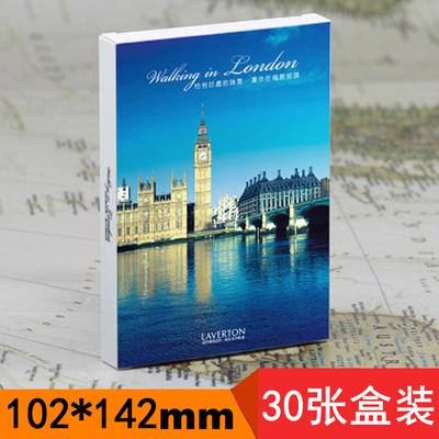 欧洲城市风情图旅行记录卡 记忆伦敦 大本钟明信片 英国摄影卡片
