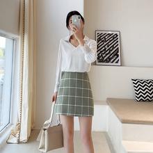 2019新款 韩式v领简约气质白衬衫 通勤 夏装 温柔蕾丝袖 未央定制