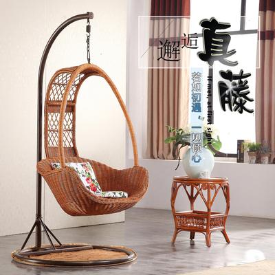吊篮藤椅摇篮椅成人家用经济型室内客厅阳台单人小吊椅加扶手掉椅最新最全资讯