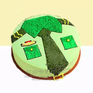 军人制服生日蛋糕 新疆乌鲁木齐蛋糕店同城速递乌鲁木齐石河子