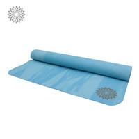 easyoga高回弹瑜伽垫橡胶材质可折叠迷彩瑜珈健身垫瑜伽辅具