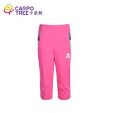 Cabo tree summer new children's quick-drying pants seven points shorts girls sports soft shell pants breathable thin