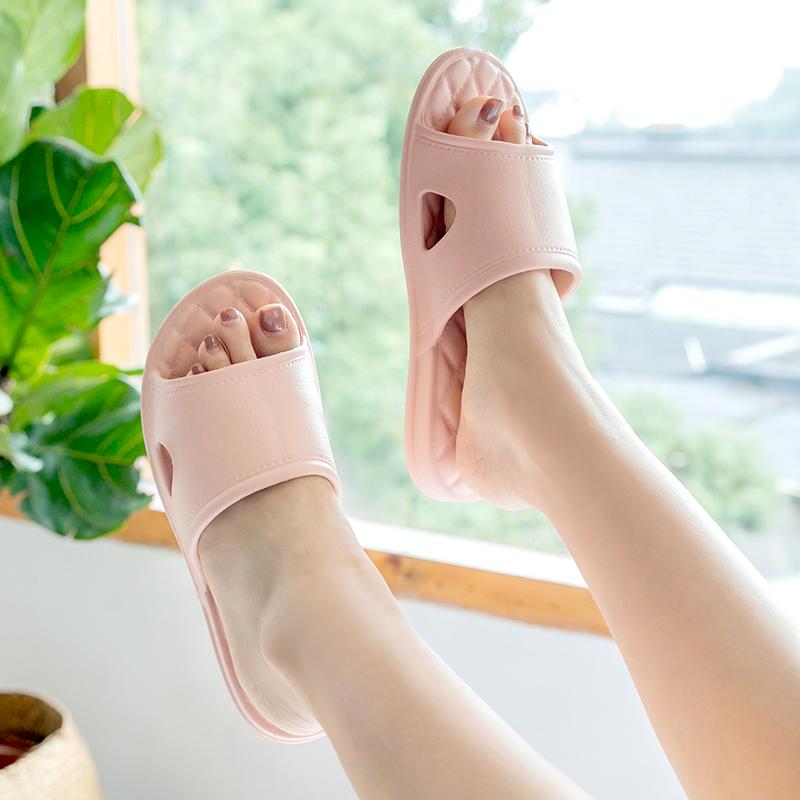 拖鞋女夏季室内情侣软底家居家用托鞋男士按摩洗澡防滑浴室凉拖鞋