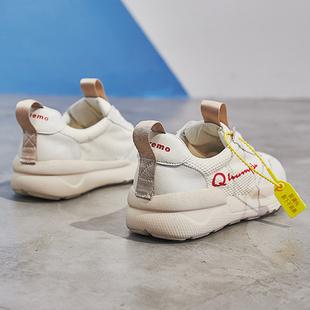 网面小白鞋女厚底2018夏新款运动鞋女韩版跑步鞋学生百搭网红女鞋