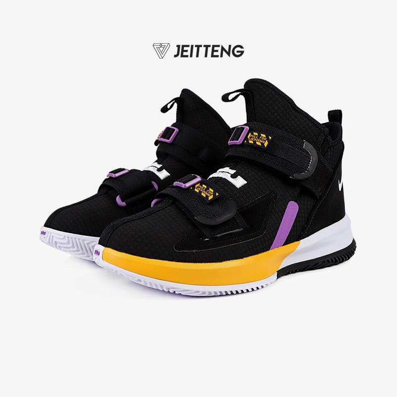 Nike耐克战靴男子LEBRON 詹姆斯战士13实战运动篮球鞋AR4228-004