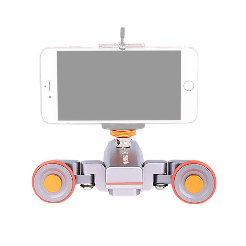 摄影单反稳定器狼王L4 II摄影小车智能无线遥控滑轨轨道电动小车