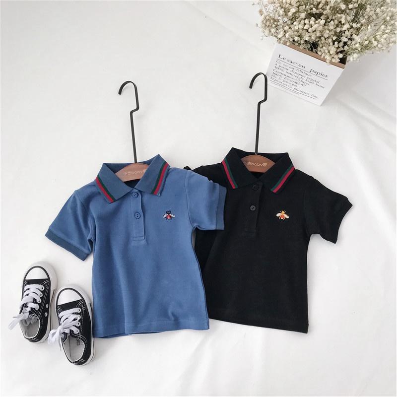 童短袖刺绣polo衫