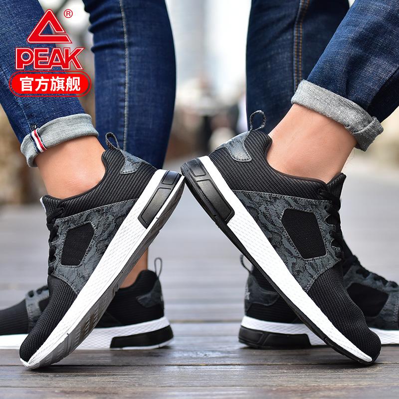 匹克休闲鞋男情侣韩版低帮2019夏季男鞋潮流跑步鞋运动鞋女鞋透气