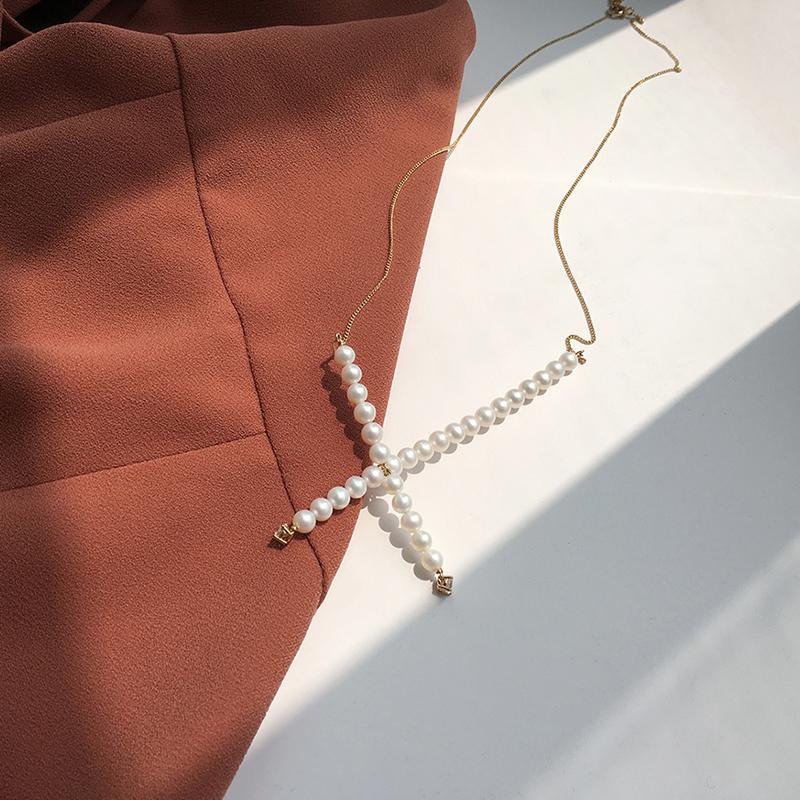 十字个性珍珠