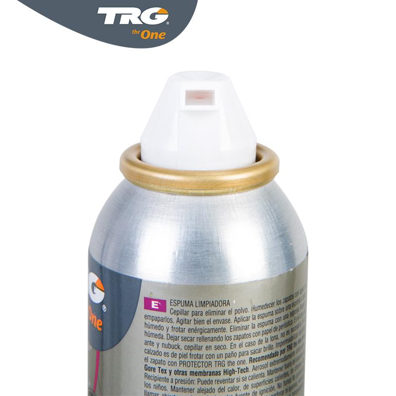 西班牙进口TRG羊皮牛皮席漆翻毛皮鞋包清洁去污除霉泡沫喷剂护理