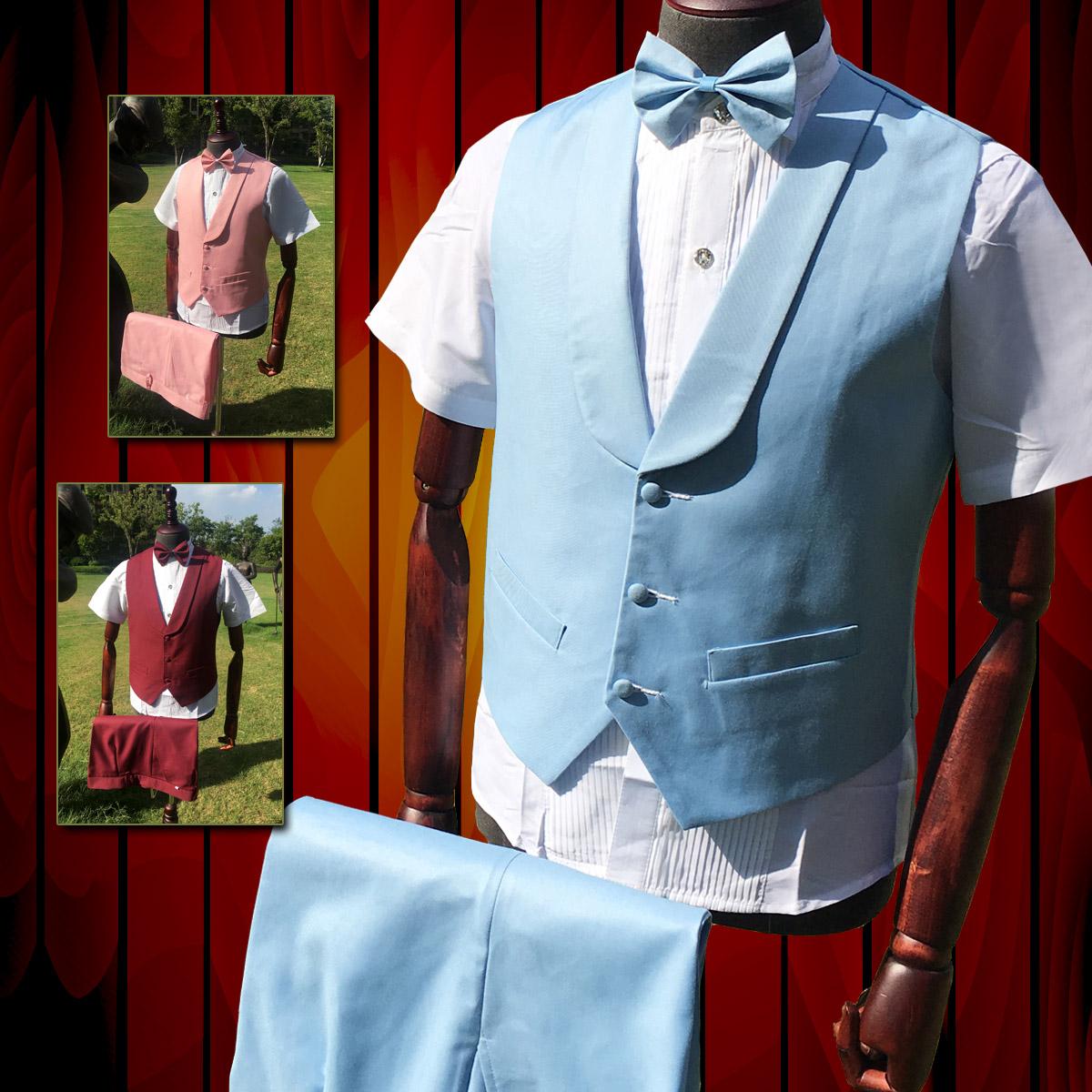 男装扣演出服