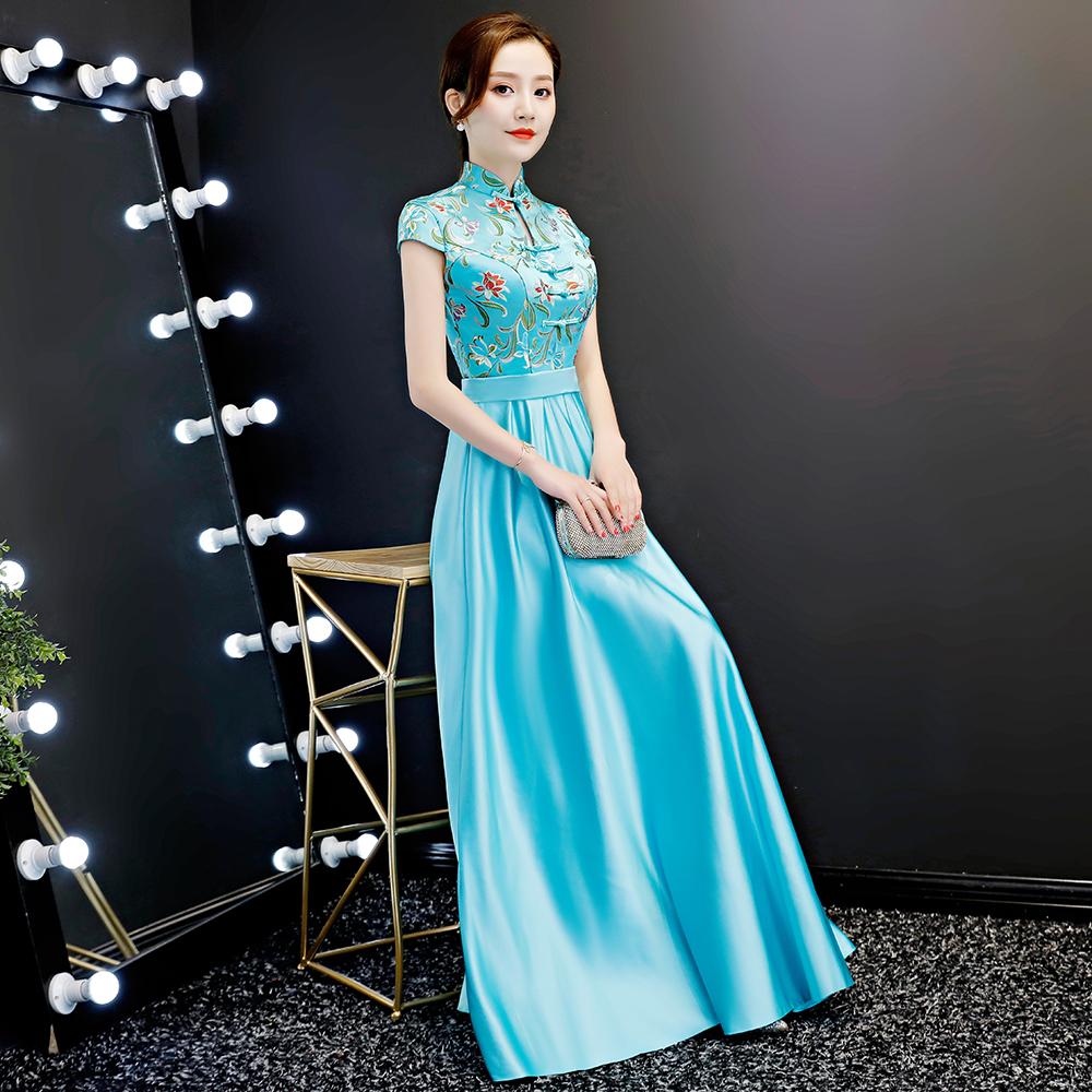 紫缘萱L637旗袍