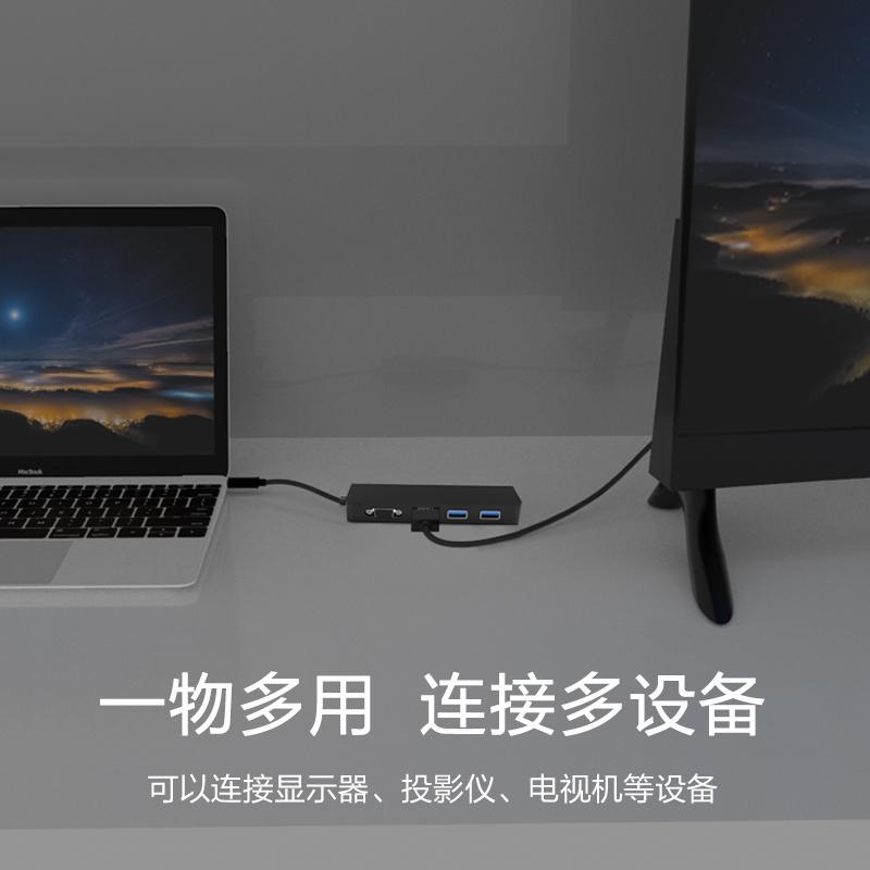 鑫喆 Swich游戏机视频转接器Type-C网线转换器USB充电 HDMI VAG 投影仪多功能转换器PD充电Swich转换器配件