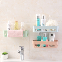 Perforation-free wall-hanging bathroom shelf toilet washroom washroom wall suction cup wall shelf