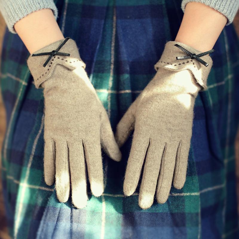 羊毛绒触屏手套
