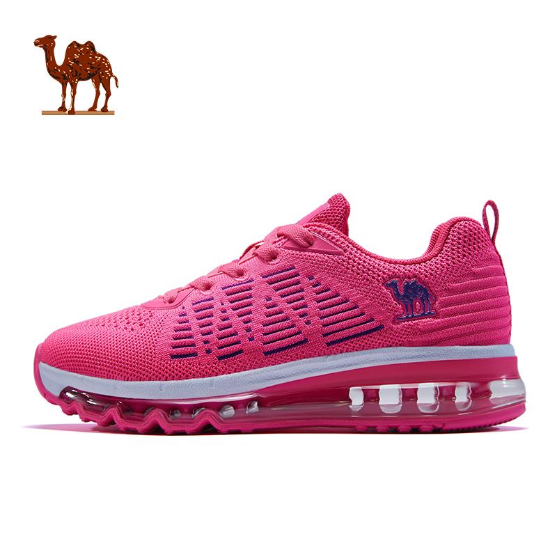 骆驼女鞋 2018冬季新款轻便休闲跑步鞋缓震气垫鞋子耐磨女士跑鞋
