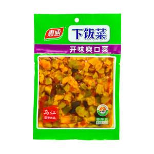 惠通开味爽口菜下饭菜榨菜美味咸菜开胃菜酱菜泡菜120g/袋