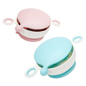 好孩子儿童餐具 婴儿防滑吸盘碗分格餐盘宝宝学吃饭练习碗