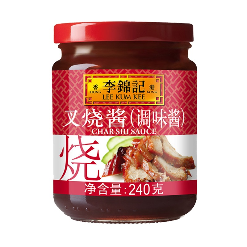 李锦记叉烧酱240克 调料烧烤烧肉炒菜腌制牛排