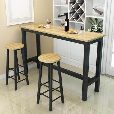 酒吧小型高脚怀旧奶茶店家具红酒甜品吧台桌高桌子吧台桌清新酒店品牌排行