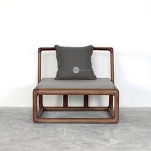 素元| 无相靠背禅椅|纯实木榫卯结构原创设计师品牌家具