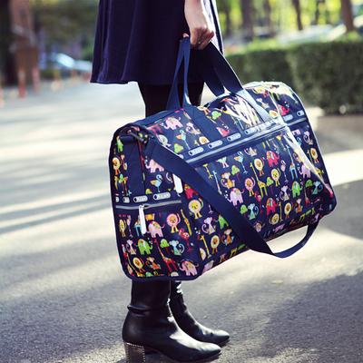大容量单肩手提旅行包防水行李包旅行袋男女旅游包出差包登机包