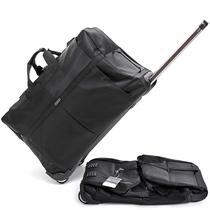 欧美简约拉杆旅行包大容量行李包旅行袋折叠托账出差搬家包新款