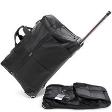 欧美简约拉杆旅行包大容量行李包旅行袋折叠航空托运箱出差搬家包